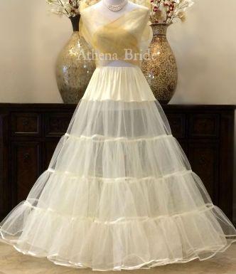 Crinoline Ivory Floor Length Petticoat