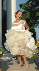 Tea Length Crinoline Petticoat