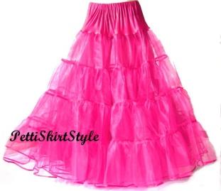 Crinoline Petticoat Floor Length
